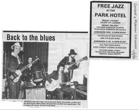 The Bob Pearce Blues Band - I'm A Bluesman